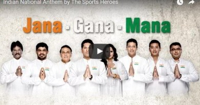 Indian National Anthem by The Sports Heroes