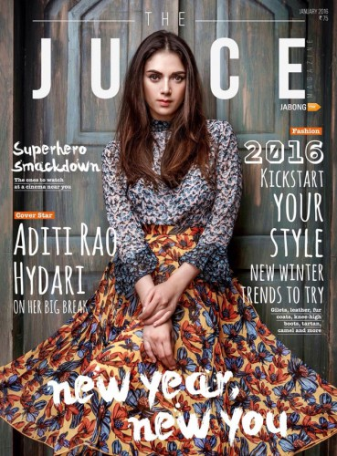 Aditi Rao Hydari's photo shoot for Juice magazine