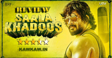 Sala Khadoos Movie Review