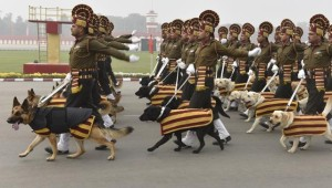 Indian Army dog squad Republic day