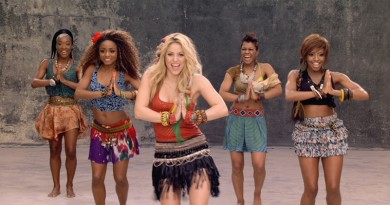 shakira waka waka song one billion views