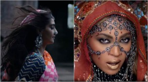 sonam beyonce coldplay song