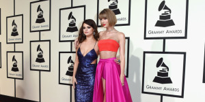 2016 Grammy Awards red carpet