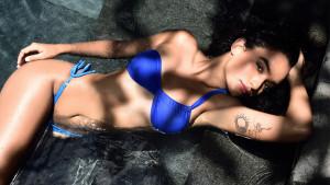 Maya Hendricks Shot for Kingfisher Calendar 2016