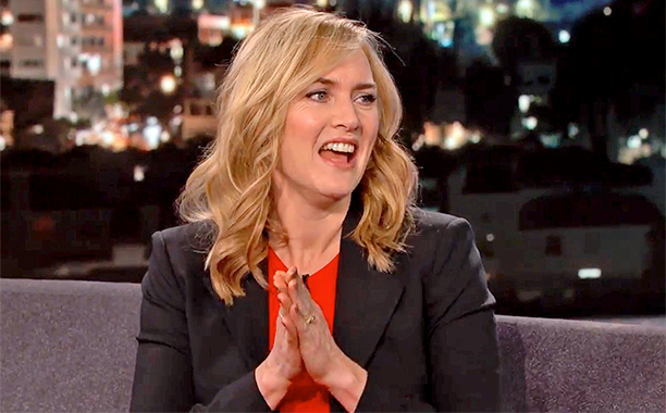 kate winslet Jimmy Kimmel Live