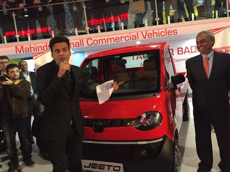 manoj bajpai Auto Expo 2016