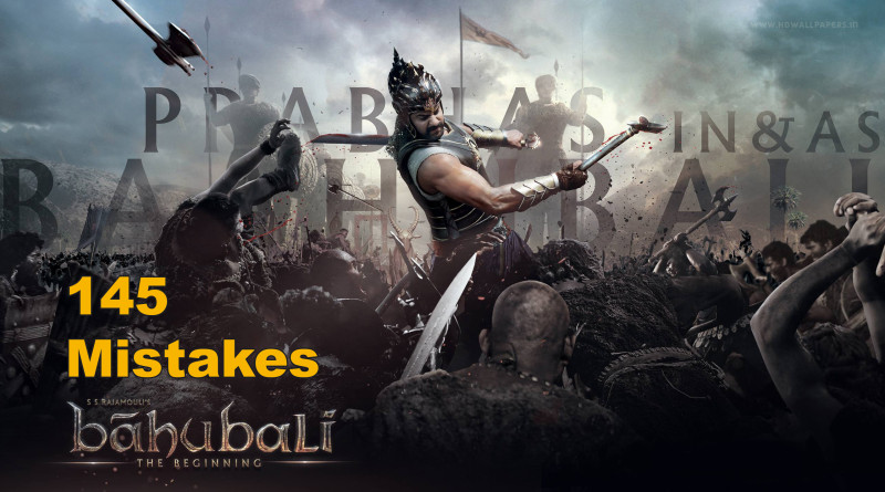bahubali Movie Mistakes