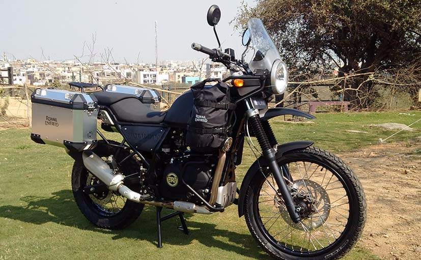 Royal Enfield Unveils The Himalayan In India