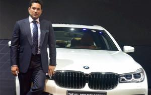 sachin tendulkar Auto Expo 2016