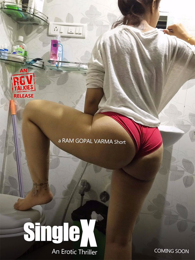 The First Look Of Ram Gopal Varma's Sex Thriller, Single X