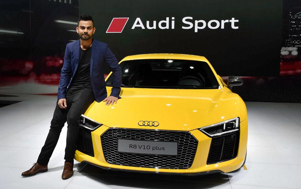 virat kohli Auto Expo 2016