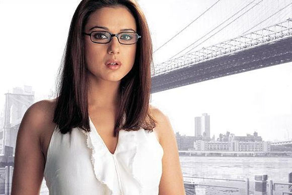 preity zinta in spectacle