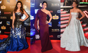 Best Dressed Bollywood Celebrities at Red Carpet TOIFA 2016 in Dubai
