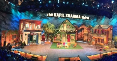 First Look:- set of The Kapil Sharma Show.