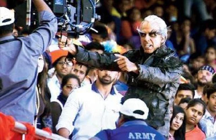 Akshay Kumar First Look in Enthiran 2.0