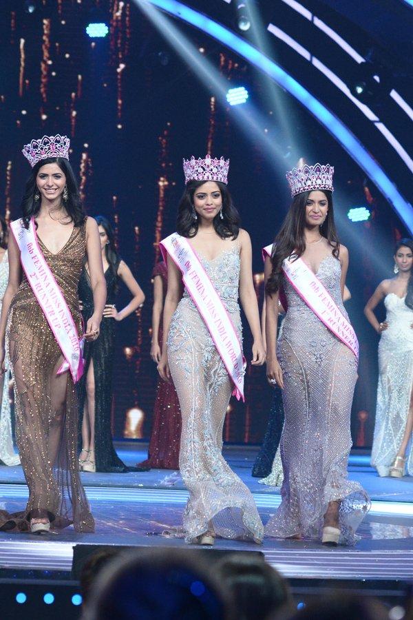 Priyadarshini Chatterjee Miss India 2016