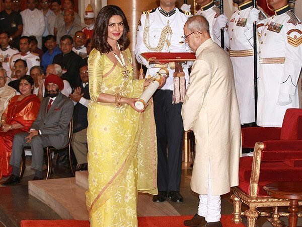 Priyanka Chopra receives Padma Shri 1