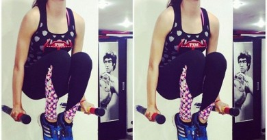 Urvashi-Rautela-workout-and-fitness-jym-exercise-photo