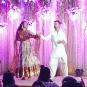 Virat Kohli Sonakshi Sinha dance at rohit sharma sangeet ceremony