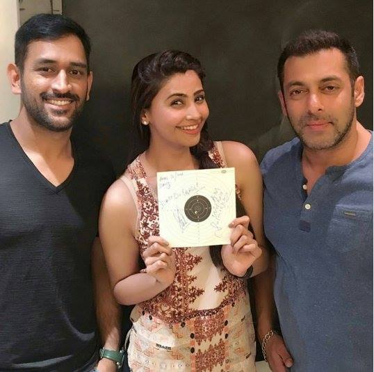 dhoni daisy and salman khan