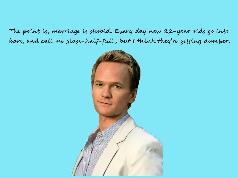 barney stinson quotes about love