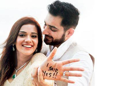 Finally Raja Siddhant Karnick Married His Rani!