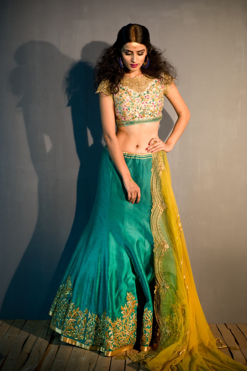 Designer lehenga online in india