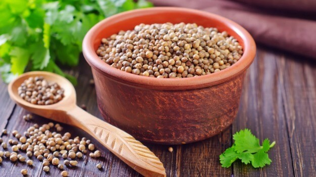coriander seeds for acne treatment
