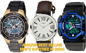 Amazon Best Selling Men's Watches in India