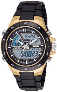 Skmei Analogue-Digital Black Dial Men's Watch