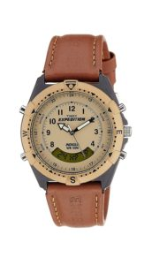 Timex Expedition Analog-Digital Beige Dial Men's Watch