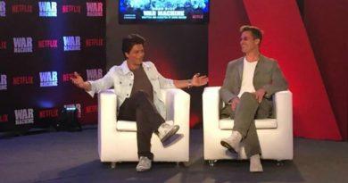 Brad Pitt Shah Rukh Khan War Machine
