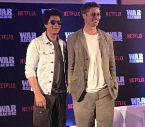 Brad Pitt Shah Rukh Khan War Machine