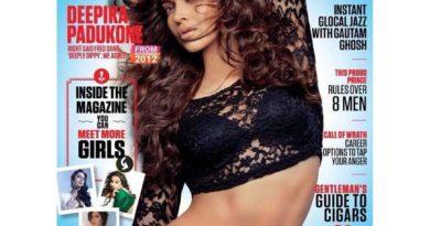 Deepika Padukone FHM magazine cover Jan 2016