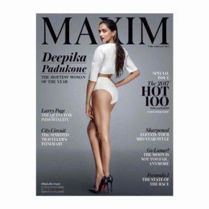 Deepika Padukone Maxim magazine cover June 2017
