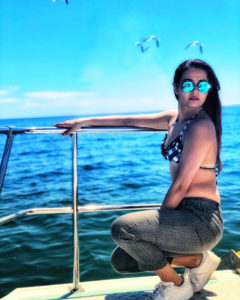 Surveen Chawla flaunting her hot her body