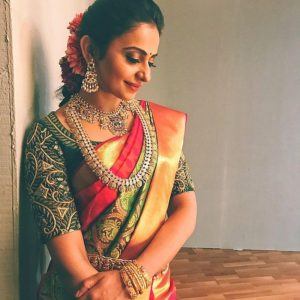rakul preet singh hd images in saree