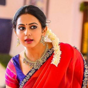 rakul preet singh hd images in saree3