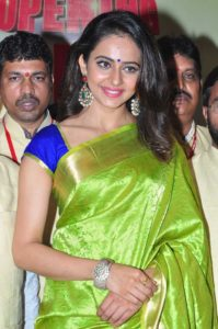 rakul preet singh hd images in saree6