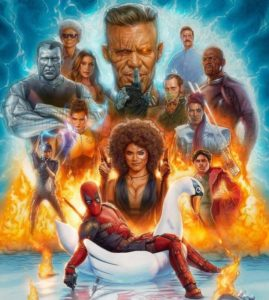 Deadpool 2 Movie Poster