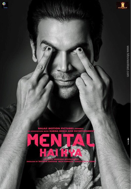 Mental Hai Kya Official Poster 2