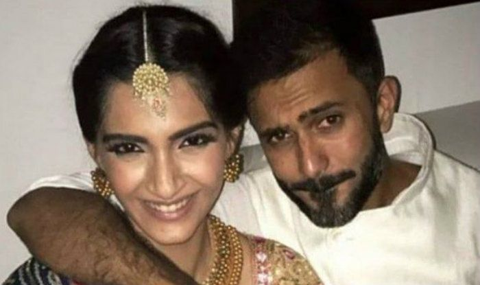 sonam kapoor husband name,