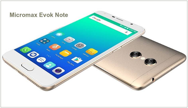 Micromax Evok Note Features